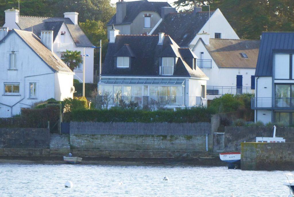 maison Larmor Baden avec vue sur mer